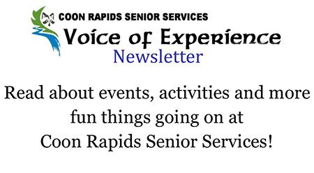 Voice of Experience Newsletter