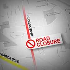 Hanson Road Closure