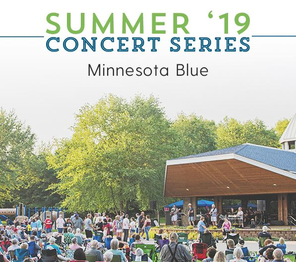 Minnesota Blue performs at the Summer Concert Series